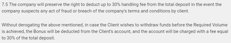 titnatrade scam bonus terms
